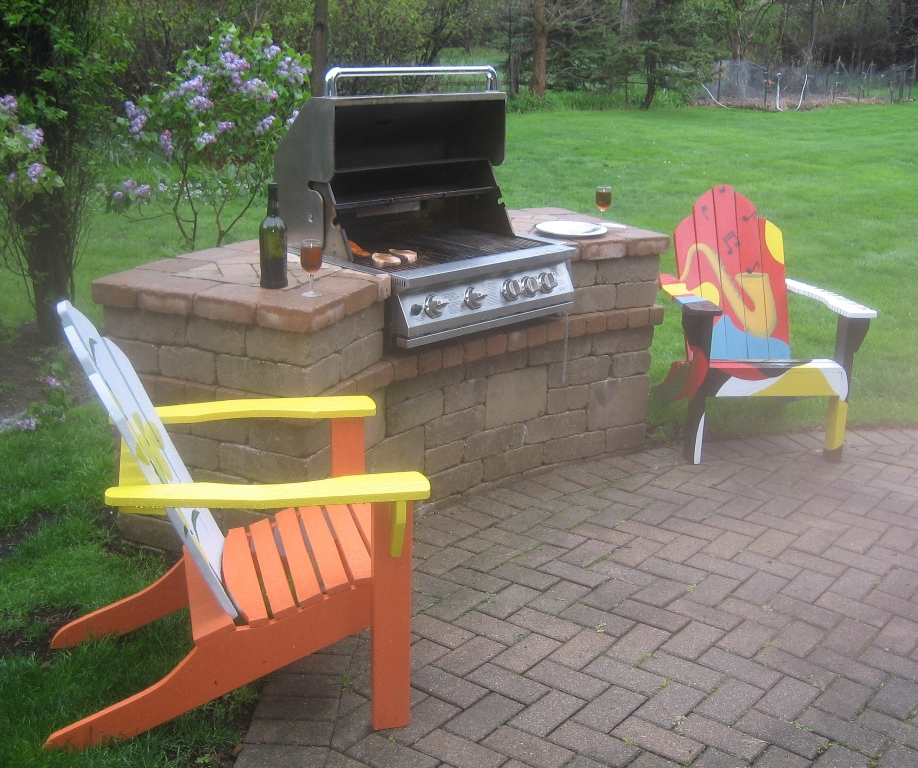 HAM Patio With Grill